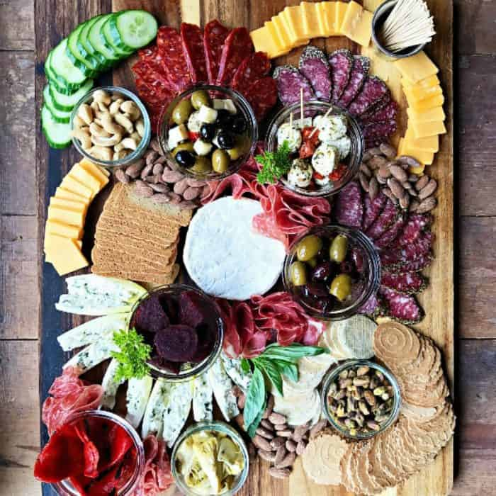 Best Meat Cheese Olive Charcuterie Board