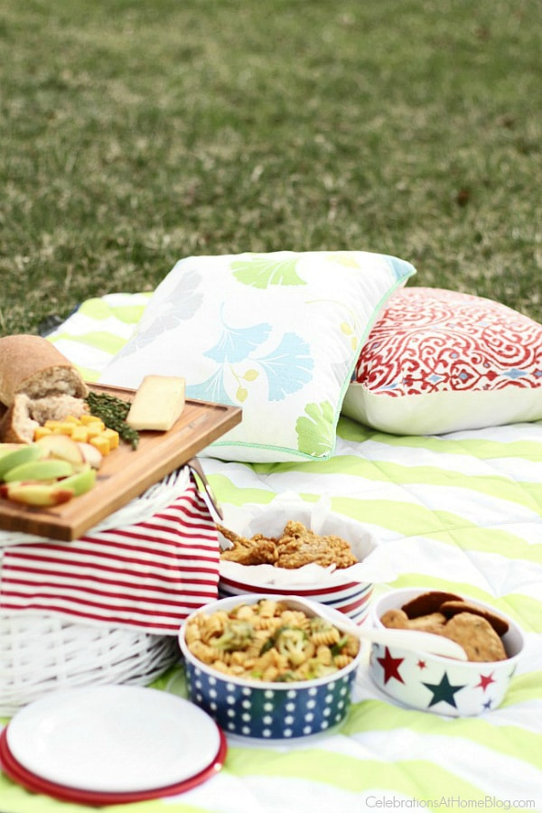 How to Plan a Perfect Picnic MENU