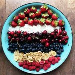 Fourth of July Fruit Berry Platter Recipe