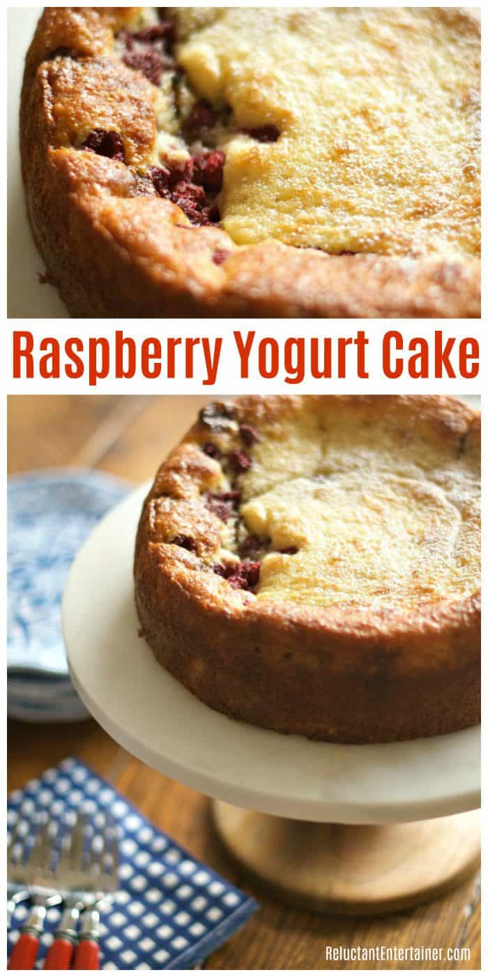 Raspberry Yogurt Cake Recipe