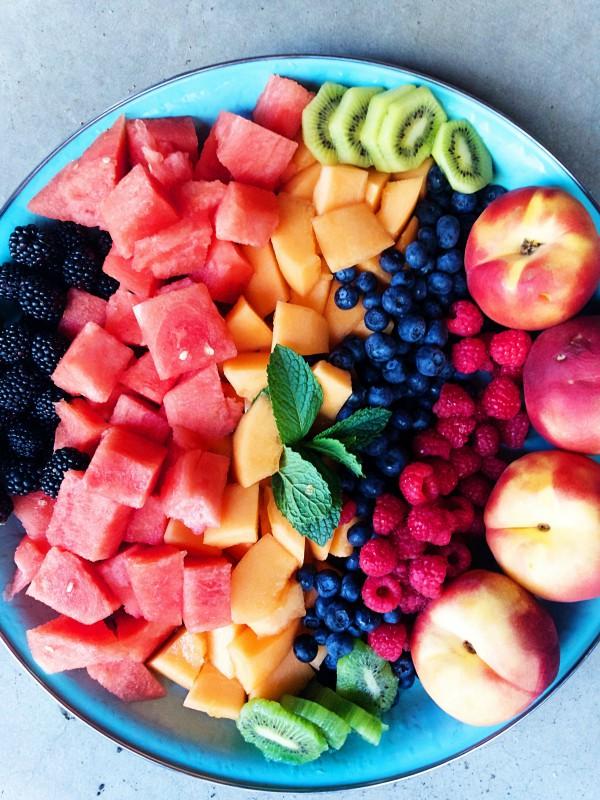 Birdseed Granola Fruit Salad Recipe