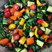 Marinated Summer Veggie Salad