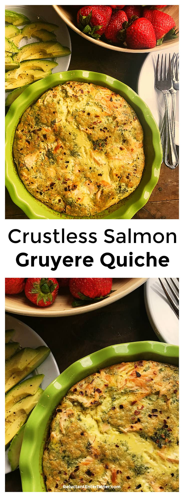 Crustless Salmon Gruyere Quiche Recipe Reluctant Entertainer Watermelon Wallpaper Rainbow Find Free HD for Desktop [freshlhys.tk]