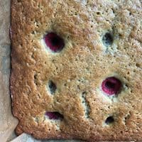 Easy Stir Banana Raspberry Bread Recipe