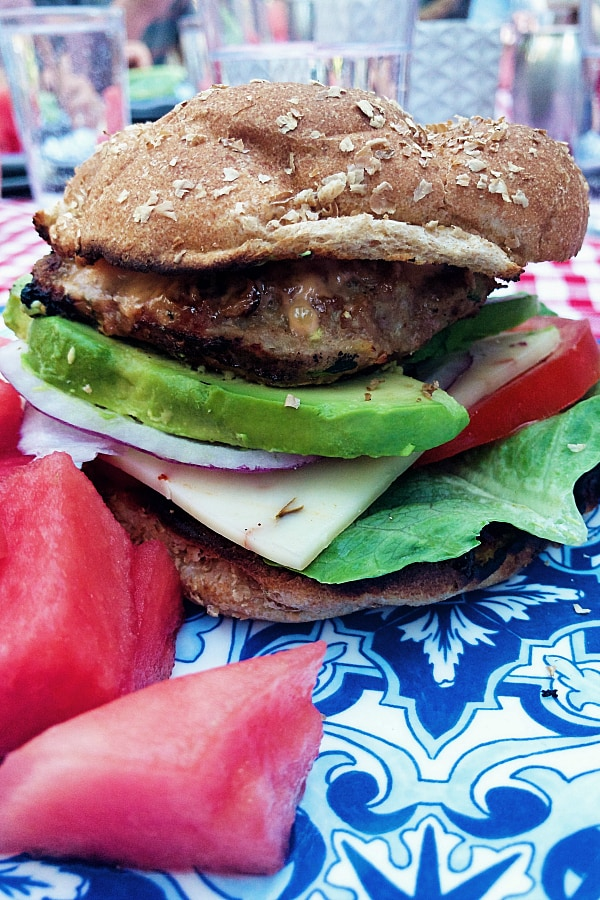 Summer Zucchini Turkey Burgers