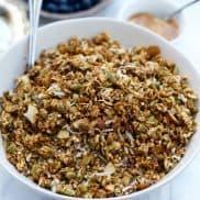 Gluten-Free Cinnamon Sweet Potato Granola