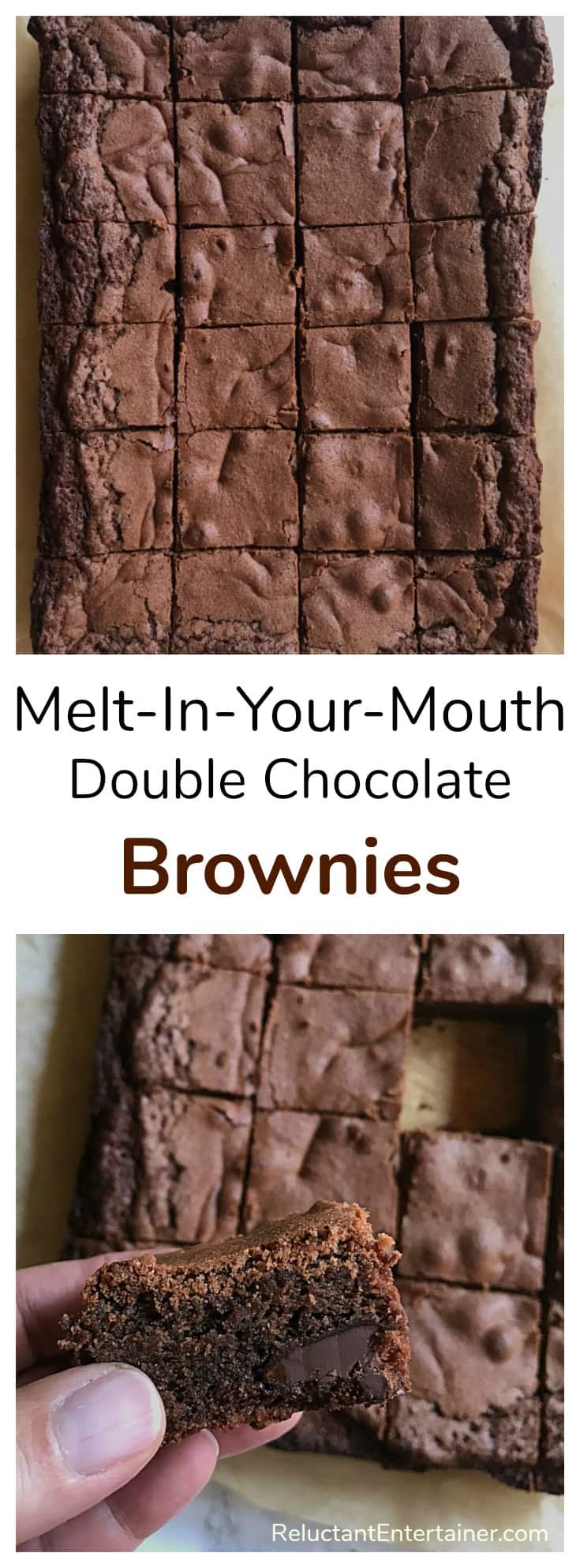 Melt-In-Your-Mouth Double Chocolate Brownie Recipe