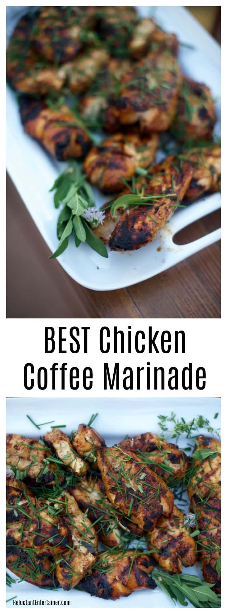 BEST Chicken Coffee Marinade Recipe