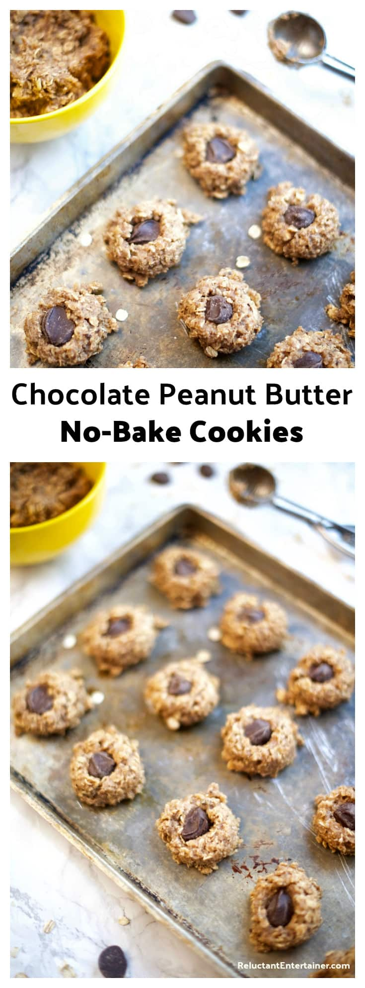 Chocolate Peanut Butter No-Bake Cookies Recipe