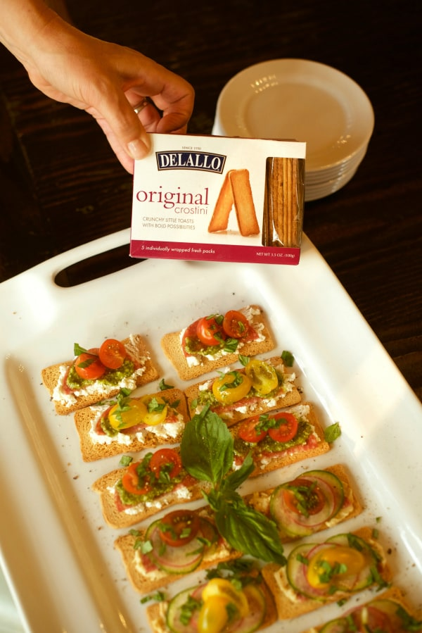Entertaining Crostini Toasts Recipes