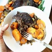 Best Slow Cooker Sweet Potato Roast Beef Dinner