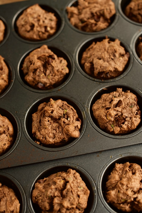 Chocolate Zucchini Muffins Recipe