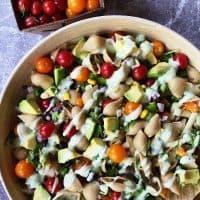Mexican Pasta Shells Salad Recipe