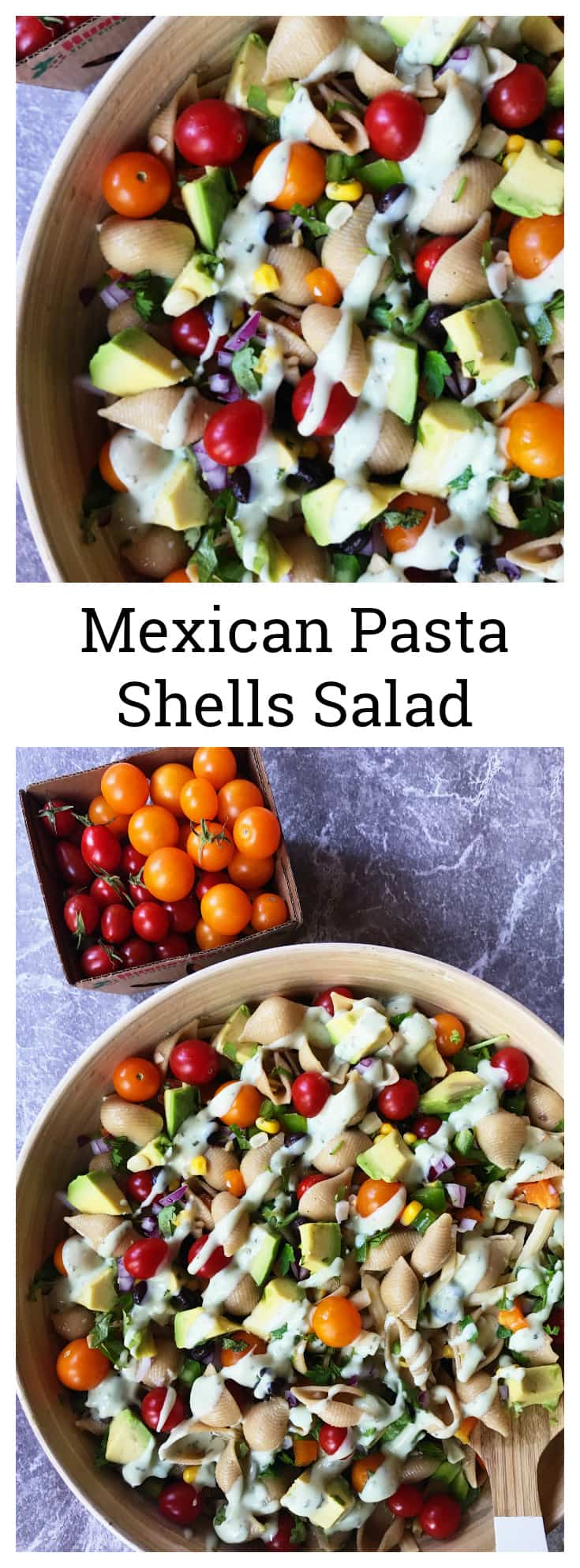 Mexican Pasta Shells Salad Recipe