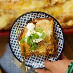 Pumpkin Enchilada Bake Recipe