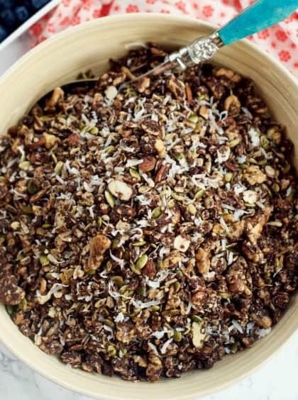 Chocolate Peanut Butter Granola Recipe