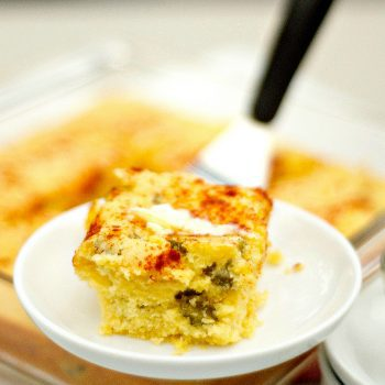 Dill Pickle Cornbread with Bacon