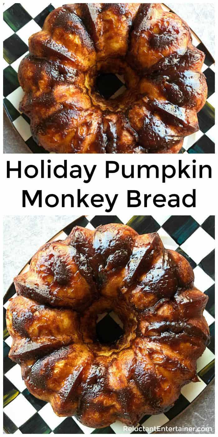 Holiday Pumpkin Monkey Bread Recipe