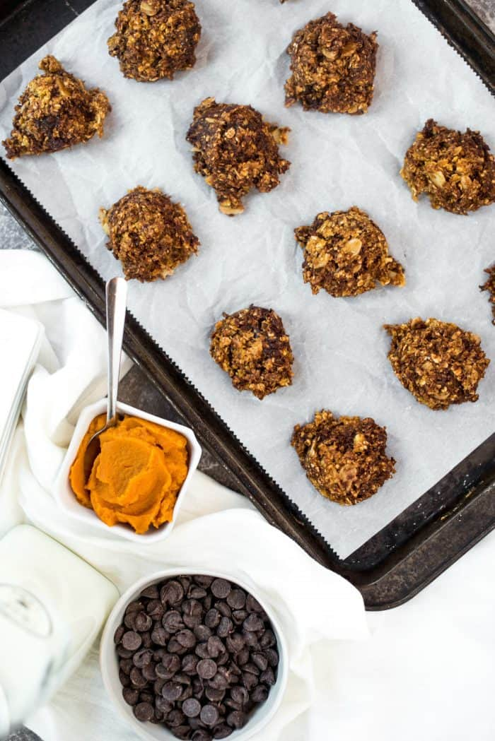 BEST No Bake Pumpkin Cookies