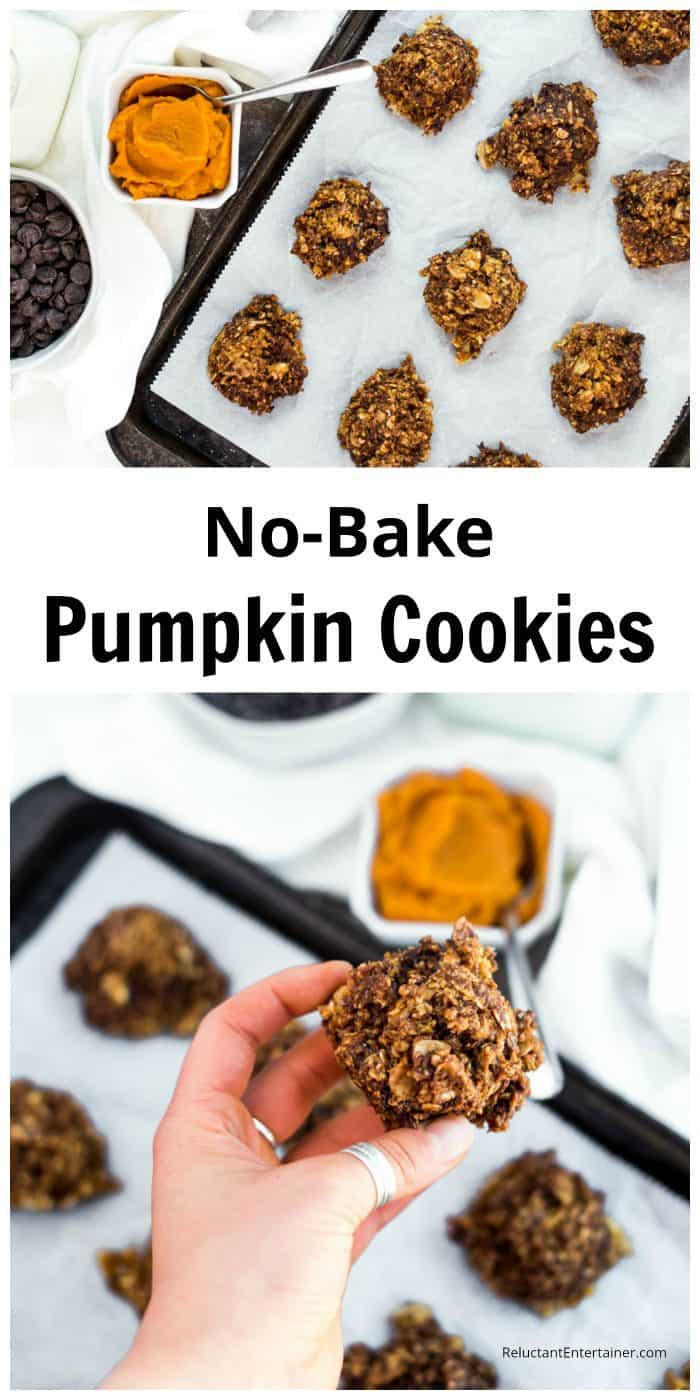 No Bake Pumpkin Cookies Recipe