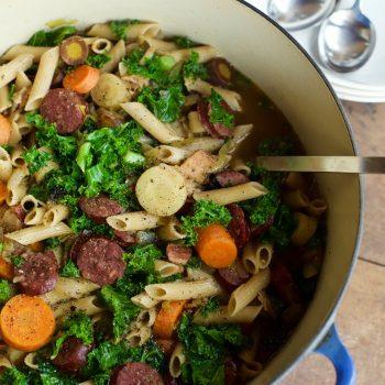 Sausage Kale Comfort Soup Recipe