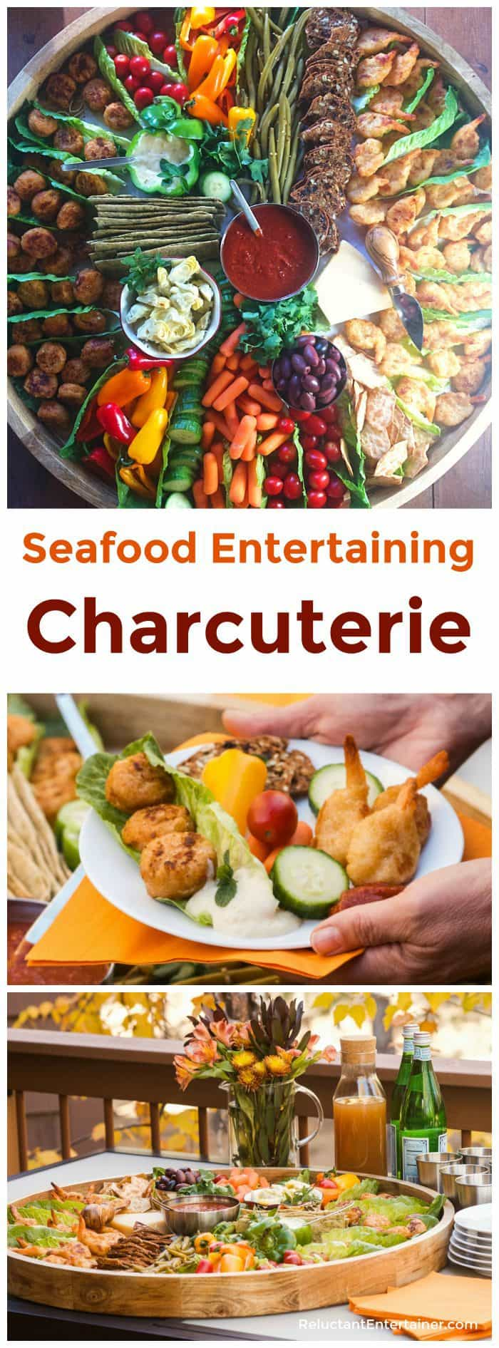 Seafood Entertaining Charcuterie in partnership with SeaPak