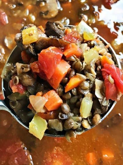 30-minute Easy Lentil Soup