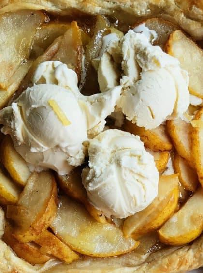 Harry & David Pear Puff Pastry Dessert Recipe