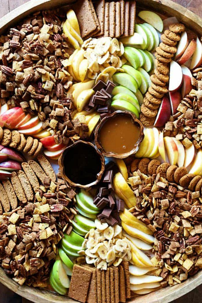 Pumpkin Spice Chex Party Mix EPIC Board