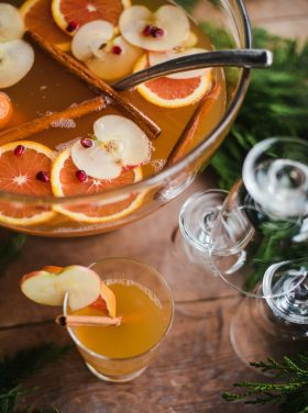 Apple Pineapple Orange Sparkling Punch Recipe