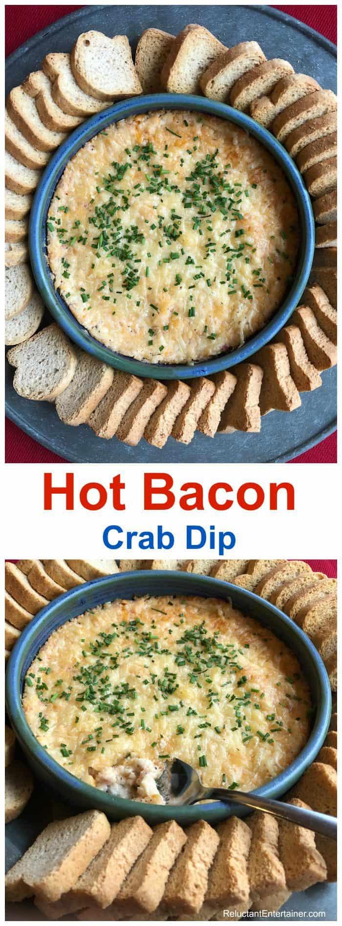 Hot Bacon Crab Dip