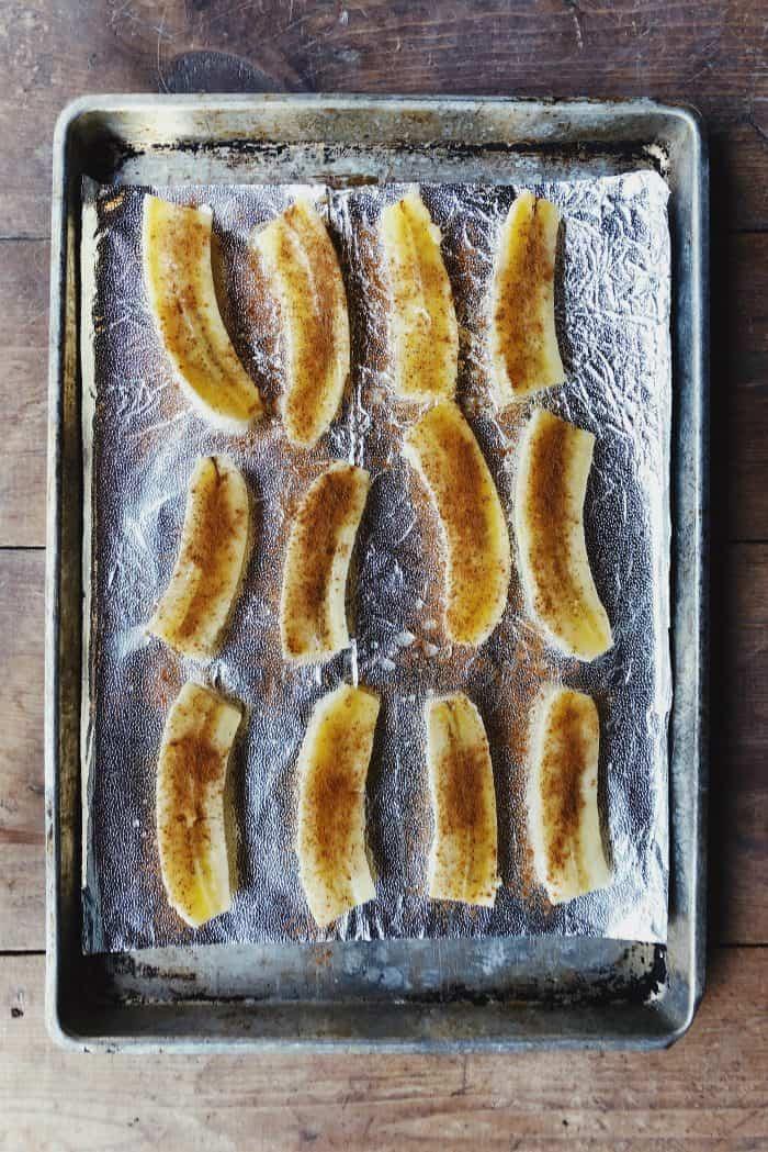 Baked Caramel Cinnamon Bananas Recipe