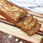 Chocolate Hazelnut Peanut Butter Banana Bread