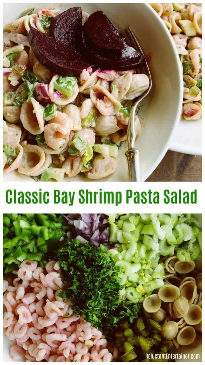 Classic Bay Shrimp Pasta Salad Recipe