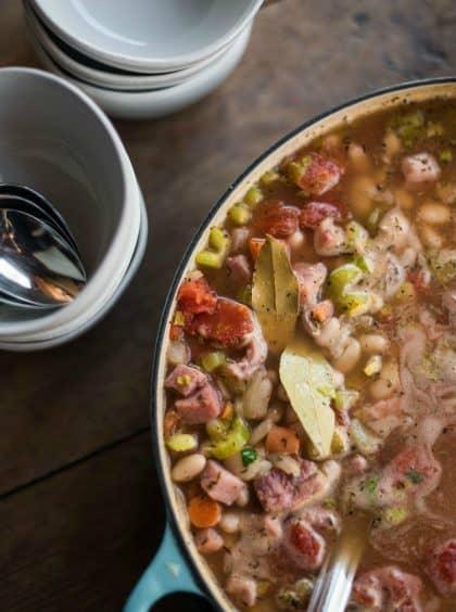 Great Northern Bean Ham Soup Recipe