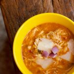 Slow Cooker White Bean Basil Chicken Soup