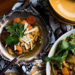 Turmeric Sweet Potato Chicken Noodle Soup