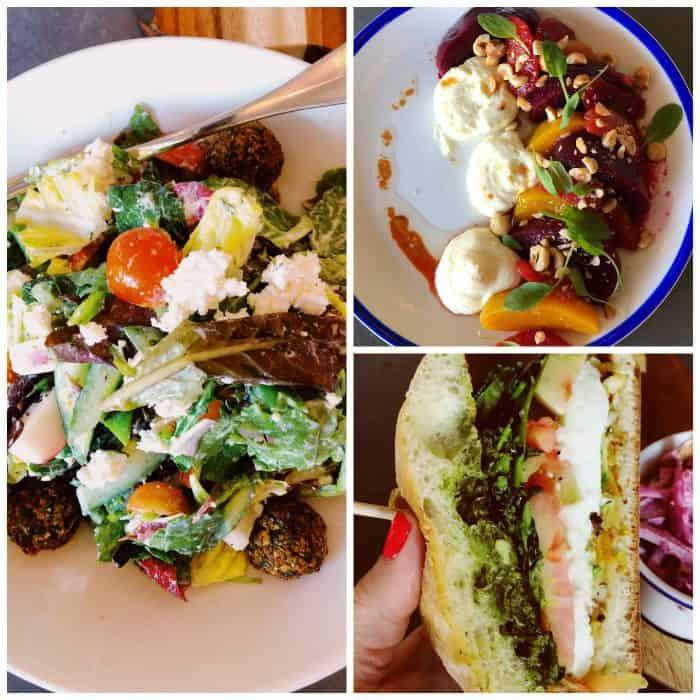 Salads Kimpton Rowan Hotel Palm Springs CA