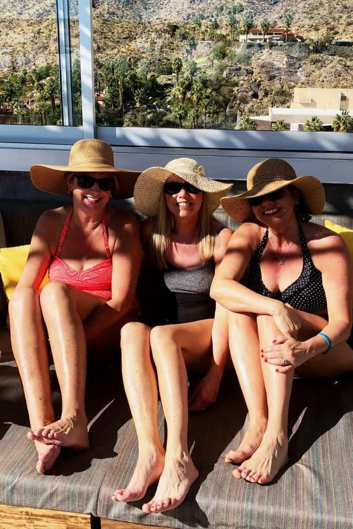 Sisters Kimpton Rowan Hotel Palm Springs CA