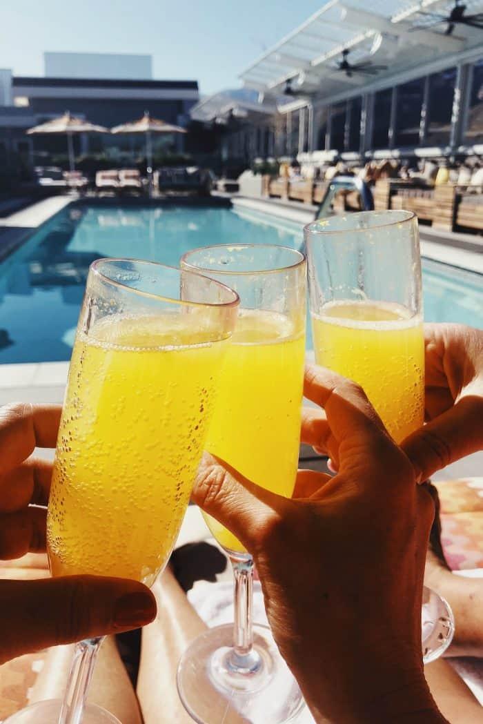 Mimosas Kimpton Rowan Hotel Palm Springs CA