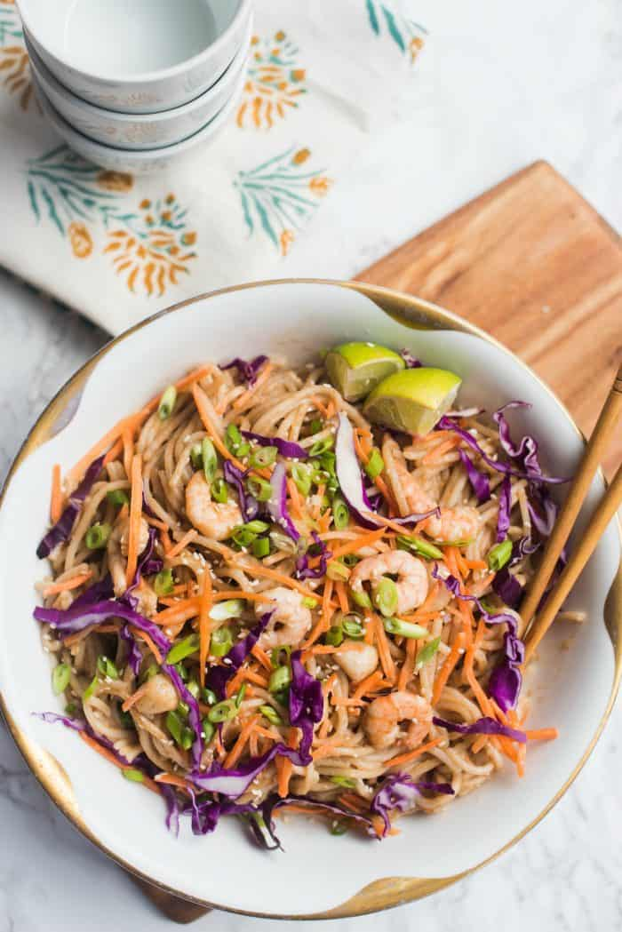 BEST Thai Noodle Seafood Dish