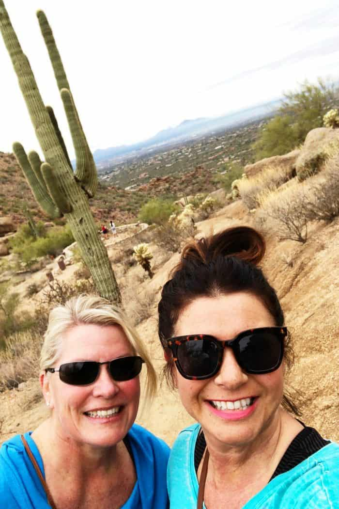 Friends on Pinnacle Peak