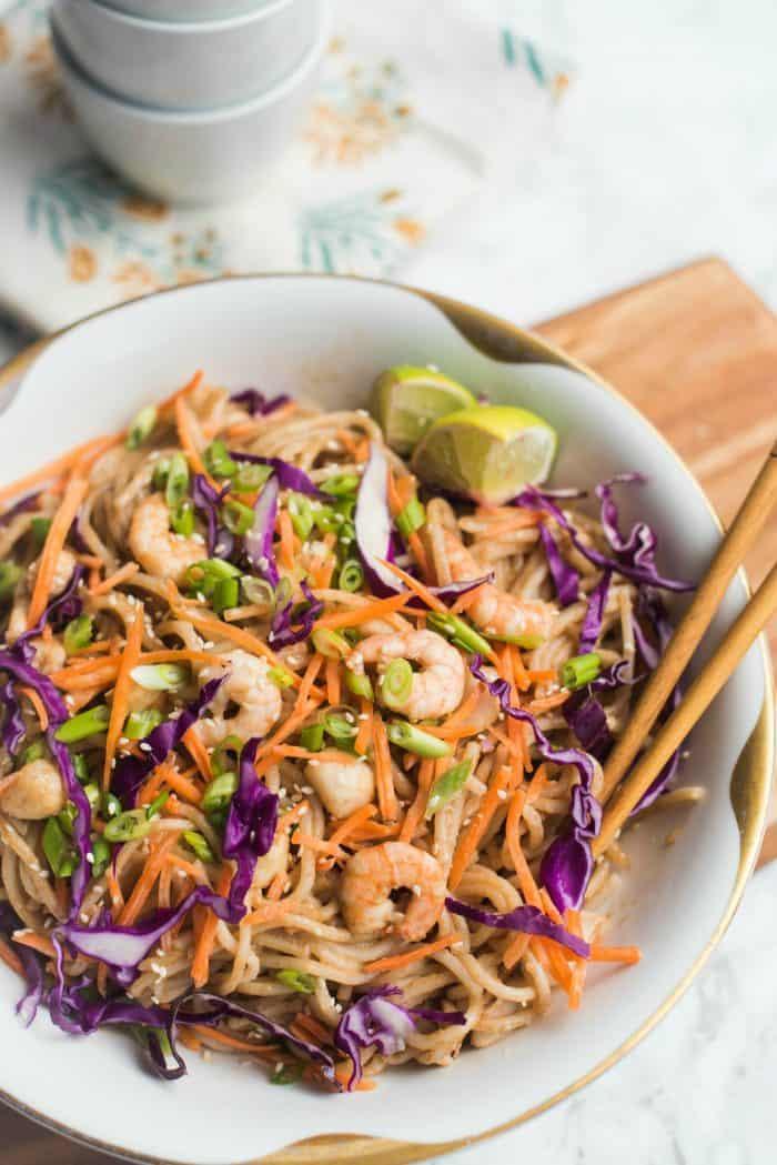 TASTY Thai Noodle Seafood Dish