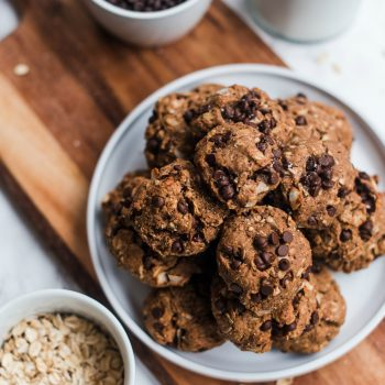Vegan Almond Butter Coconut Cookies