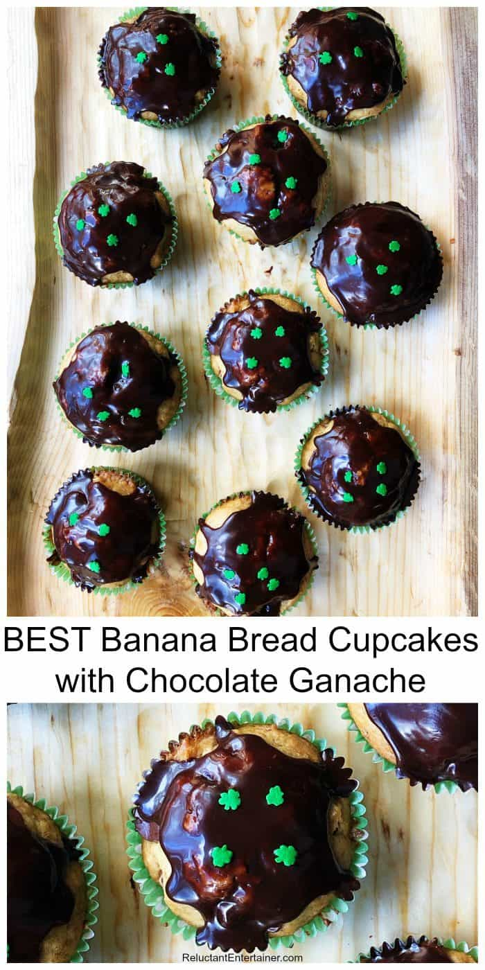Very BEST Banana Bread Cupcakes