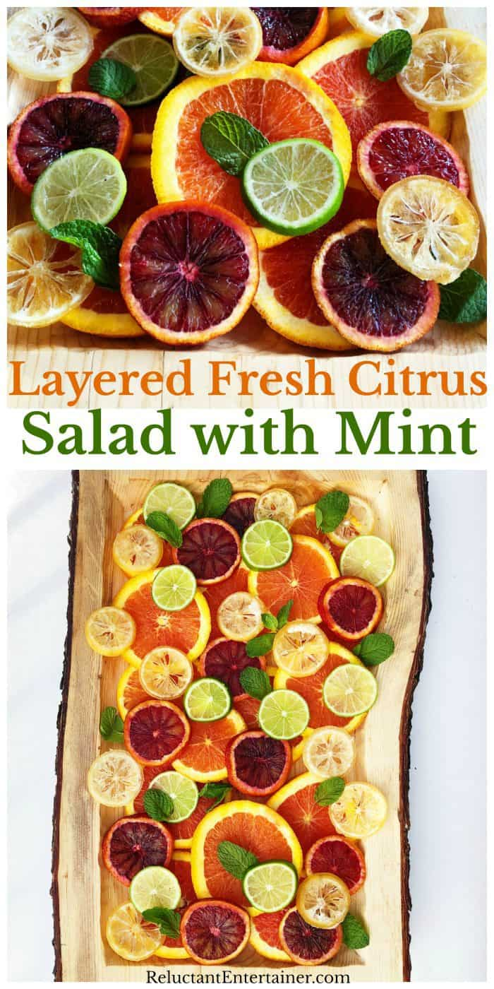 Citrus Salad with Mint Recipe