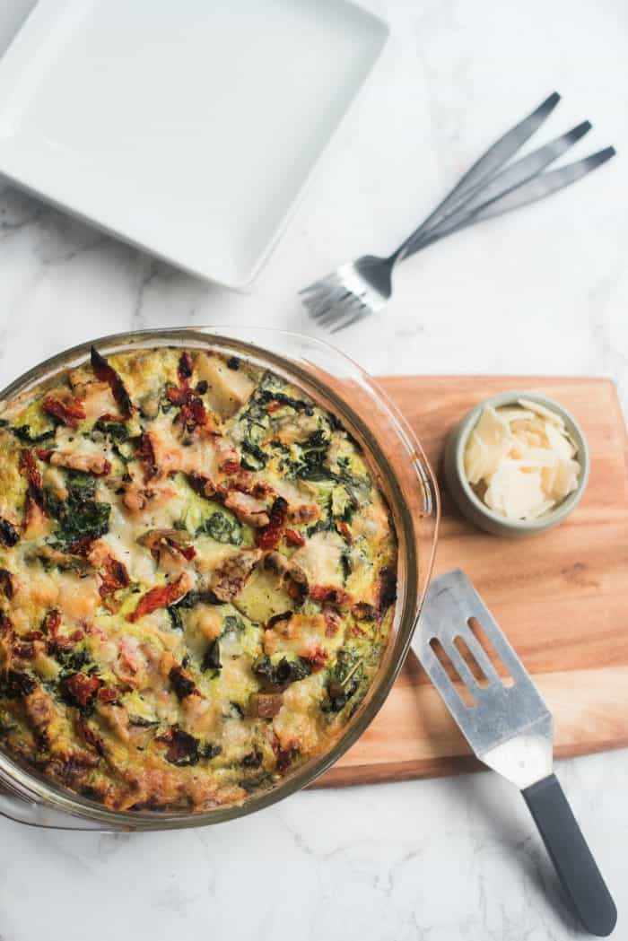 Easy Frittata Recipe with Pesto Recipe