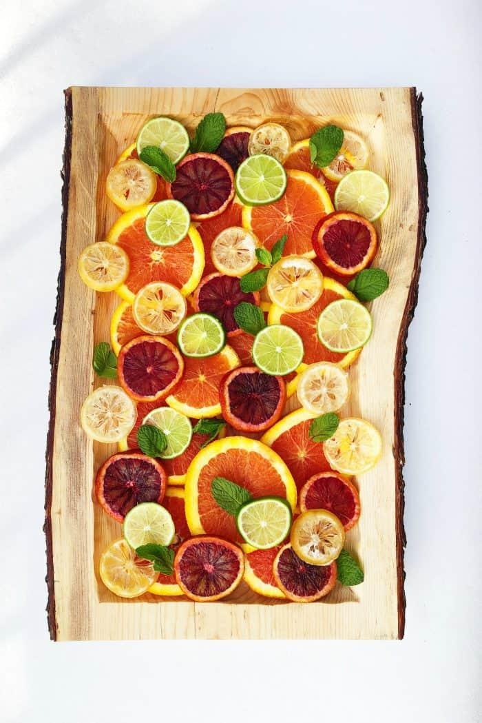 Layered Fresh Citrus Salad