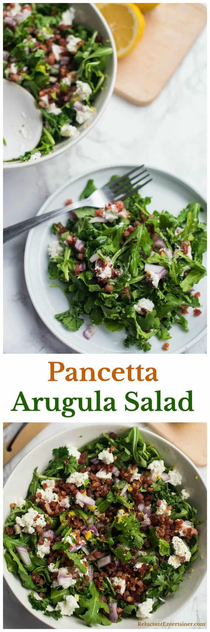 Parsley Pancetta Arugula Salad Recipes