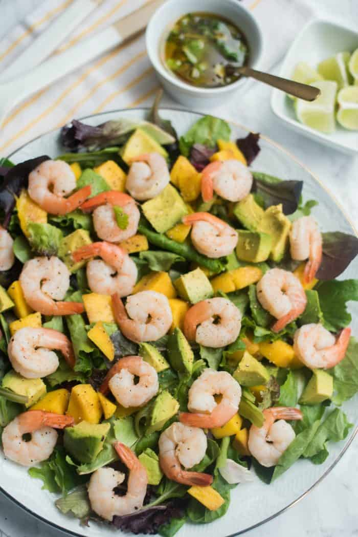 Prawns Mango Avocado Salad